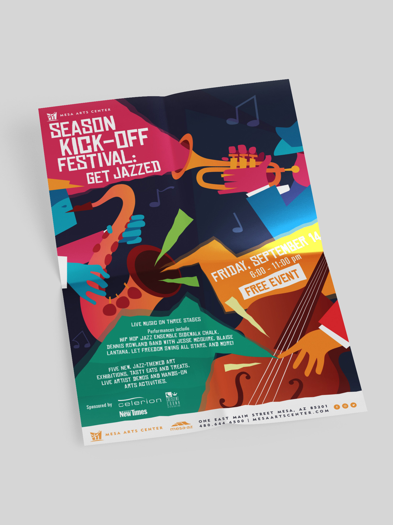 season kick-off festival flyer